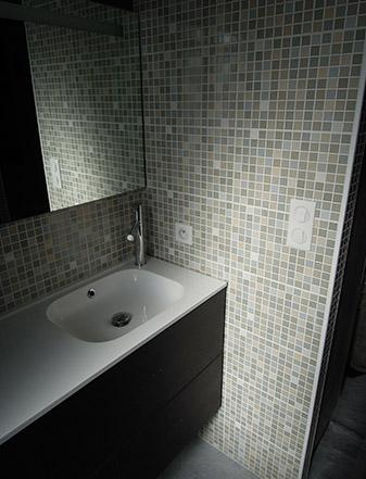Design intérieur / aménagement d'une maison individuelle - Salle d'eau ADA