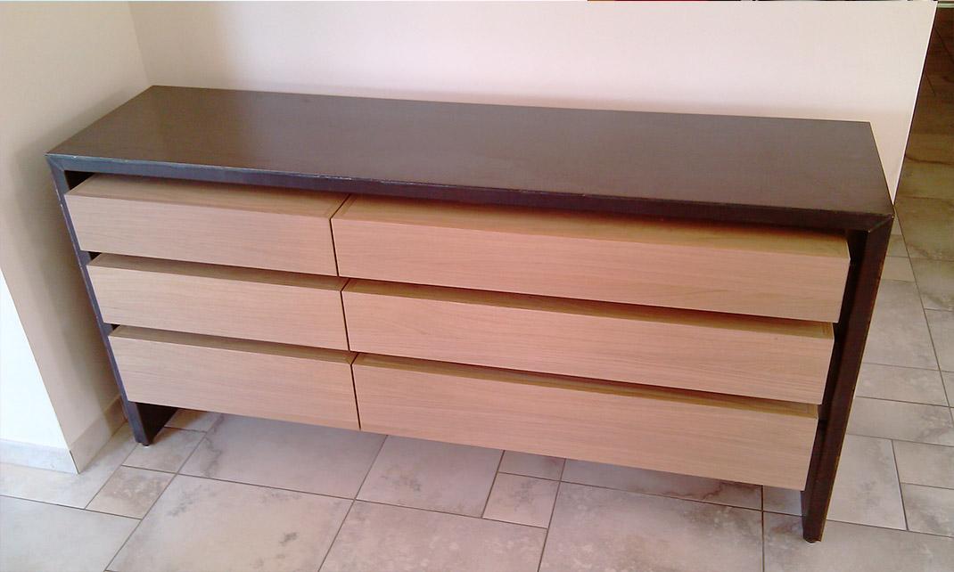 Architecture et design d'intérieur - Archidesigner Associés - Buffet bois et métal sur mesure