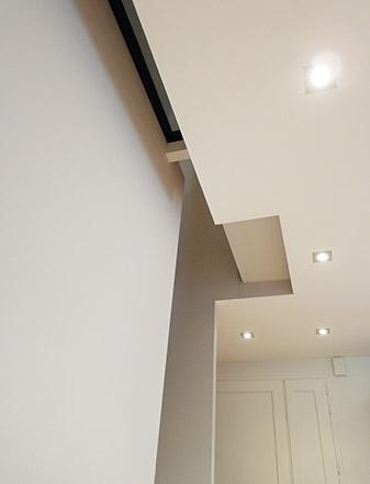 Aménagement intérieur - Carquefou (44) - Abaissement du plafond - Archidesigner Associés