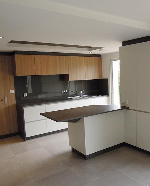 Conception d'une cuisine - la Baule (44) - ADA - ArchiDesigner Associés - Architecture & Design