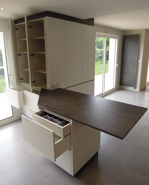Meuble cuisine - la Baule (44) - ADA - ArchiDesigner Associés - Architecture & Design