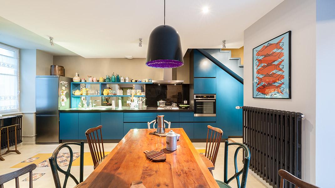 Rénovation maison le Pellerin (44) - Architecture et design d'intérieur - Archidesigner Associés - La cuisine dessinée par David Poirou
