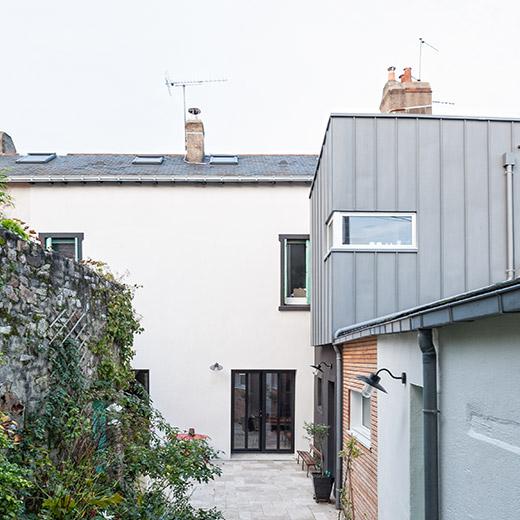 Rénovation maison le Pellerin (44) - Architecture et design d'intérieur - Archidesigner Associés - La maison après intervention