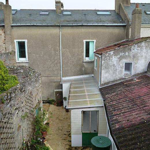 Rénovation maison le Pellerin (44) - Architecture et design d'intérieur - Archidesigner Associés - La maison avant intervention